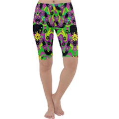 Jungle life and apples Cropped Leggings