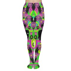 Jungle life and apples Women s Tights