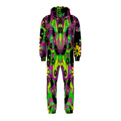 Jungle Life And Apples Hooded Jumpsuit (kids)