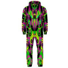 Jungle life and apples Hooded Jumpsuit (Men)