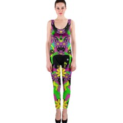 Jungle life and apples OnePiece Catsuit