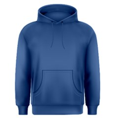 Delphinium Blue in an English Country Garden Men s Pullover Hoodie