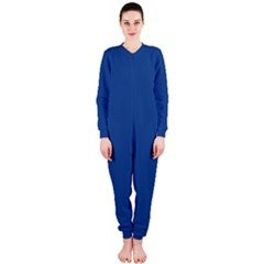 Delphinium Blue in an English Country Garden OnePiece Jumpsuit (Ladies)