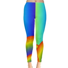 Background Rainbow Leggings