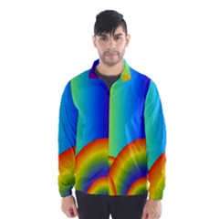 Background Rainbow Wind Breaker (Men)