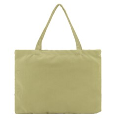 Fern Green in an English Country Garden Medium Zipper Tote Bag