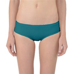 Forget Me Not Blue in an English Country Garden Classic Bikini Bottoms
