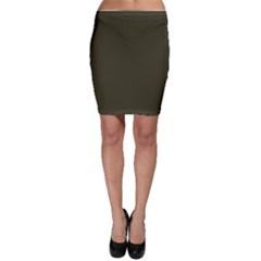 Garden Boot Green in an English Country Garden Bodycon Skirt