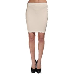 Gardenia Cream in an English Country Garden Bodycon Skirt