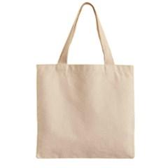 Gardenia Cream in an English Country Garden Zipper Grocery Tote Bag