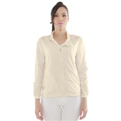 Gardenia Cream in an English Country Garden Wind Breaker (Women)