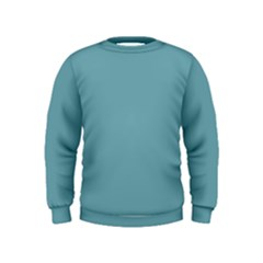 Hydrangea Blue In An English Country Garden Kids  Sweatshirt