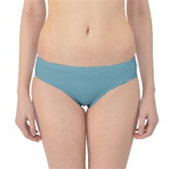 Hydrangea Blue in an English Country Garden Hipster Bikini Bottoms