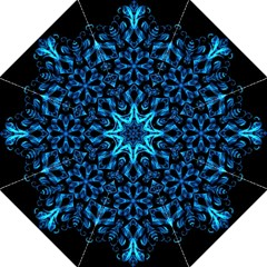 Blue Snowflake Straight Umbrellas
