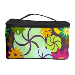 Floral Seamless Pattern Vector Cosmetic Storage Case