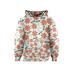 Floral Seamless Pattern Vector Kids  Pullover Hoodie