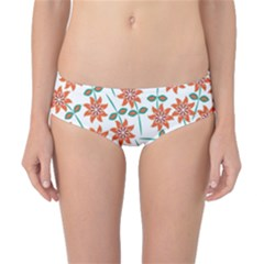 Floral Seamless Pattern Vector Classic Bikini Bottoms
