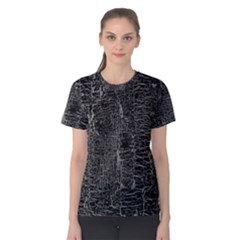Old Black Background Women s Cotton Tee
