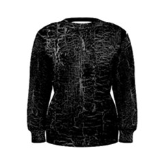 Old Black Background Women s Sweatshirt