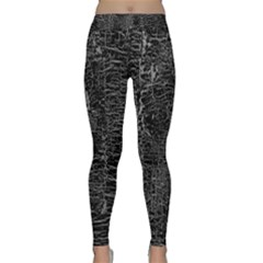Old Black Background Classic Yoga Leggings