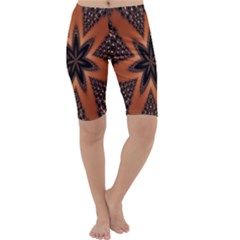 Digital Kaleidoskop Computer Graphic Cropped Leggings