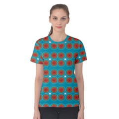 Floral Seamless Pattern Vector Women s Cotton Tee