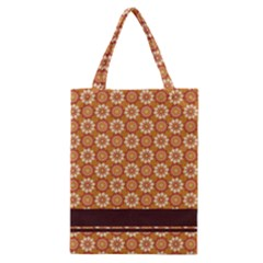 Floral Seamless Pattern Vector Classic Tote Bag
