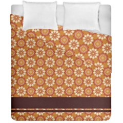 Floral Seamless Pattern Vector Duvet Cover Double Side (california King Size)