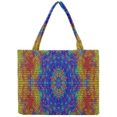 A Creative Colorful Backgroun Mini Tote Bag