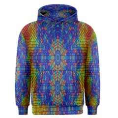 A Creative Colorful Backgroun Men s Pullover Hoodie