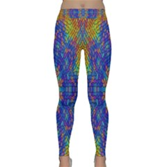 A Creative Colorful Backgroun Classic Yoga Leggings