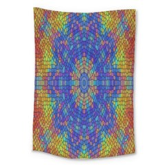 A Creative Colorful Backgroun Large Tapestry