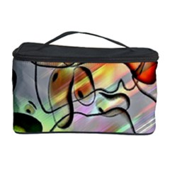 Abstract Pattern Texture Cosmetic Storage Case