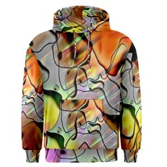 Abstract Pattern Texture Men s Pullover Hoodie