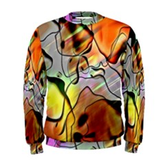 Abstract Pattern Texture Men s Sweatshirt