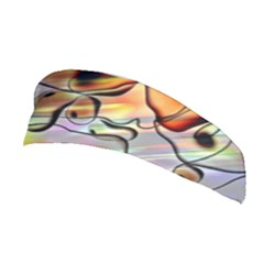 Abstract Pattern Texture Stretchable Headband