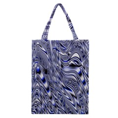 Aliens Music Notes Background Wallpaper Classic Tote Bag