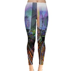 Downtown Chicago City Leggings