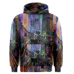 Downtown Chicago City Men s Pullover Hoodie