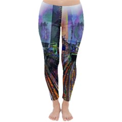 Downtown Chicago City Classic Winter Leggings