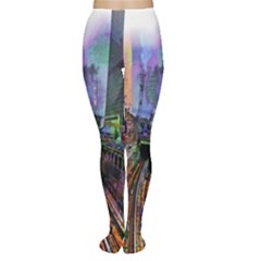 Downtown Chicago City Women s Tights