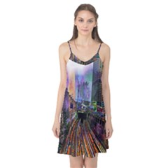 Downtown Chicago City Camis Nightgown