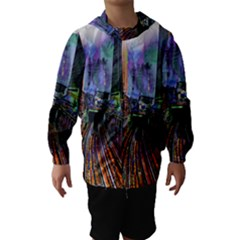 Downtown Chicago City Hooded Wind Breaker (kids)