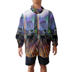Downtown Chicago City Wind Breaker (kids)
