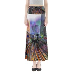 Downtown Chicago City Maxi Skirts