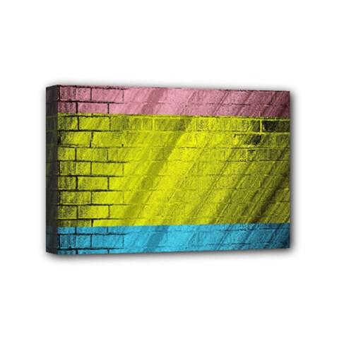 Brickwall Mini Canvas 6  x 4