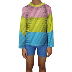Brickwall Kids  Long Sleeve Swimwear