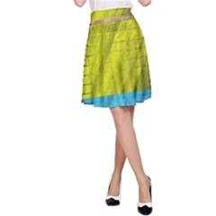 Brickwall A-Line Skirt