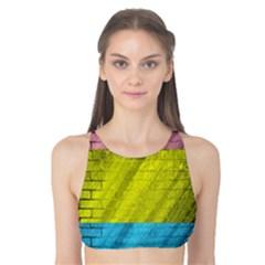 Brickwall Tank Bikini Top