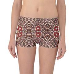 Seamless Pattern Based On Turkish Carpet Pattern Reversible Bikini Bottoms